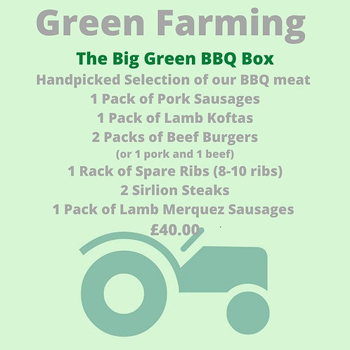 The Big Green BBQ Box