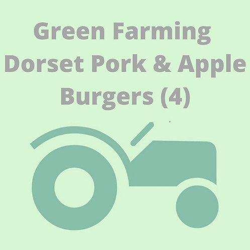 Dorset Pork & Apple Burgers (4)