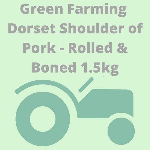Dorset Shoulder of Pork - Rolled & Boned 1.5kg