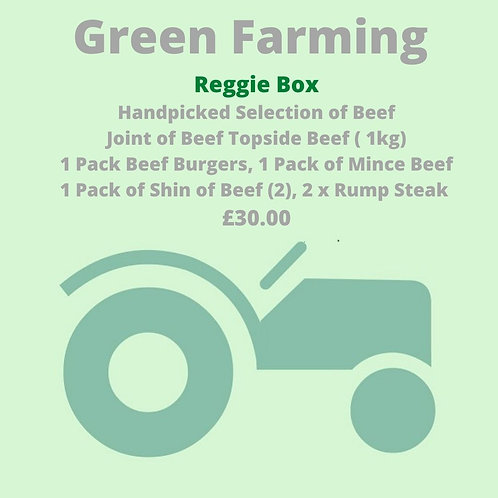 Reggie  Box  - A Handpicked Selection of Beef