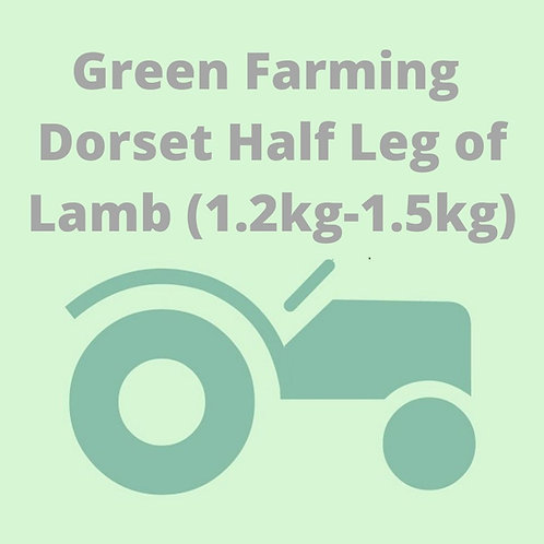Dorset Half Leg of Lamb (1.2kg-1.5kg)