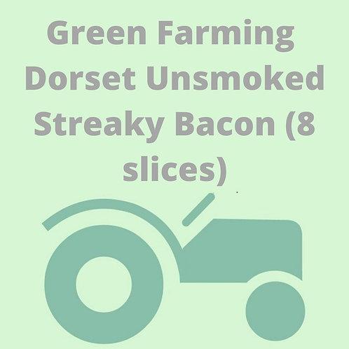 Dorset Unsmoked Streaky Bacon (8 slices)