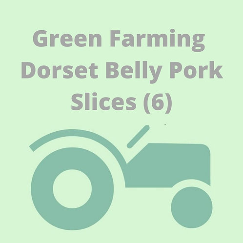 Dorset Belly Pork Slices (6)