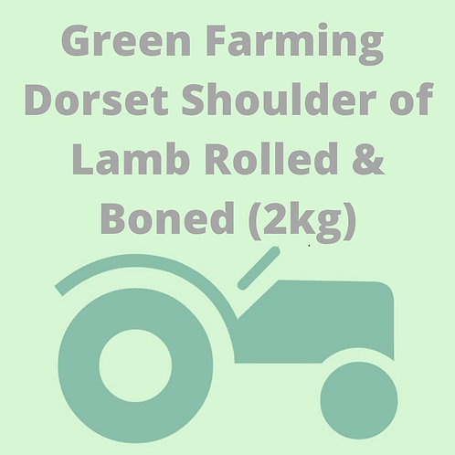Dorset Shoulder of Lamb Rolled & Boned (2kg)