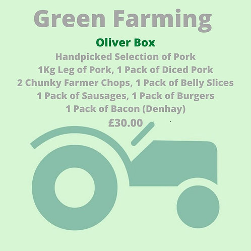 Oliver Box  - A Handpicked Selection of Pork
