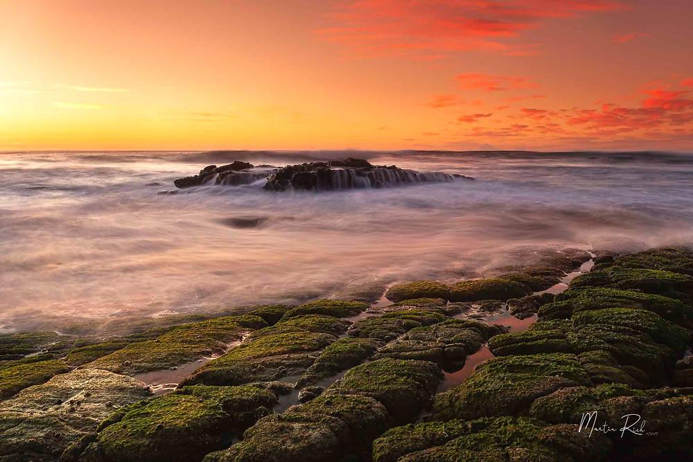 Sunrise seascape.