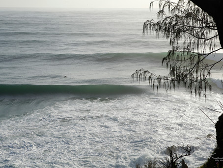 Large Swell Hits the Coast