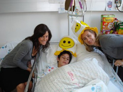 Erica and Aviva visit a young victim