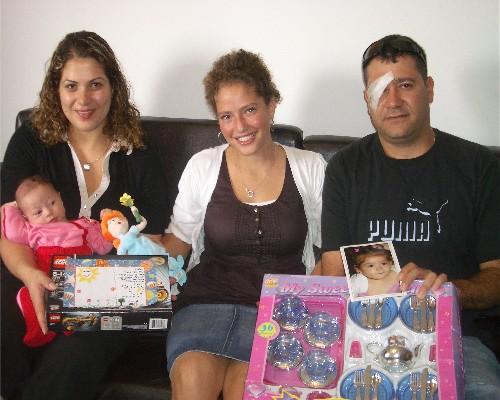 Carmit, Tamar and Liyor