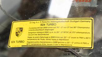 Porsche 924 Turbo Resto
