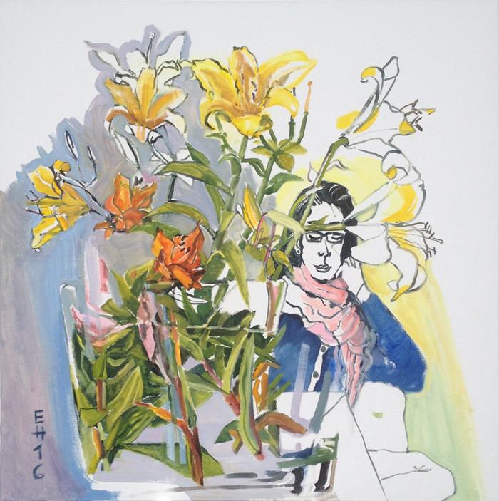 Carmen mit Lilien