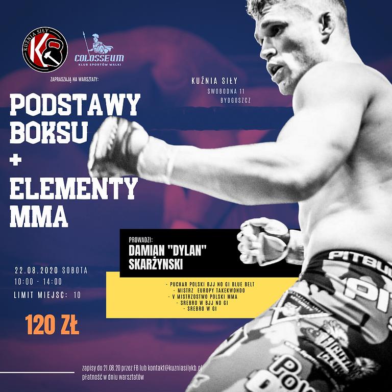 WARSZTATY PODSTAWY BOKSU + ELEMENTY MMA