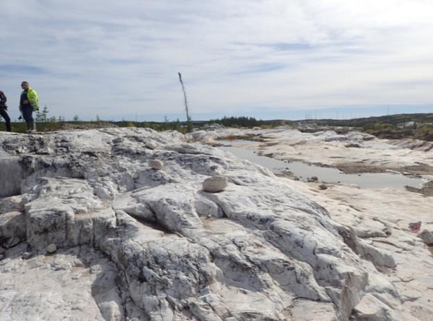 Upper Intermediate Zone at PAK deposit surface