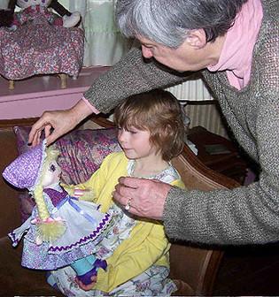Eva Gets Her Birthday Doll