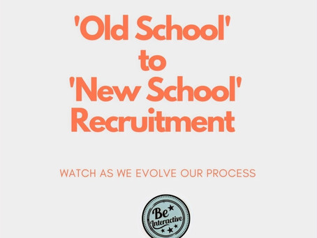 Time to evolve our Recruitment pipeline