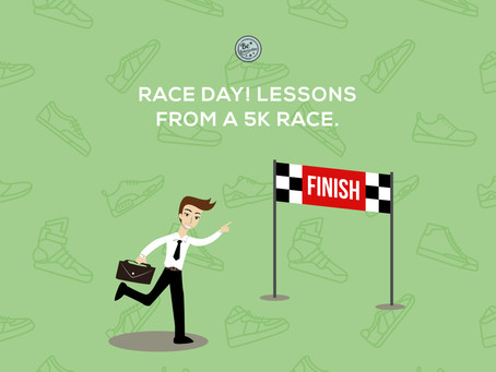 PODCAST: Race day! Lessons from a 5k race.