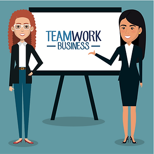 Woman Teamwork Business.png
