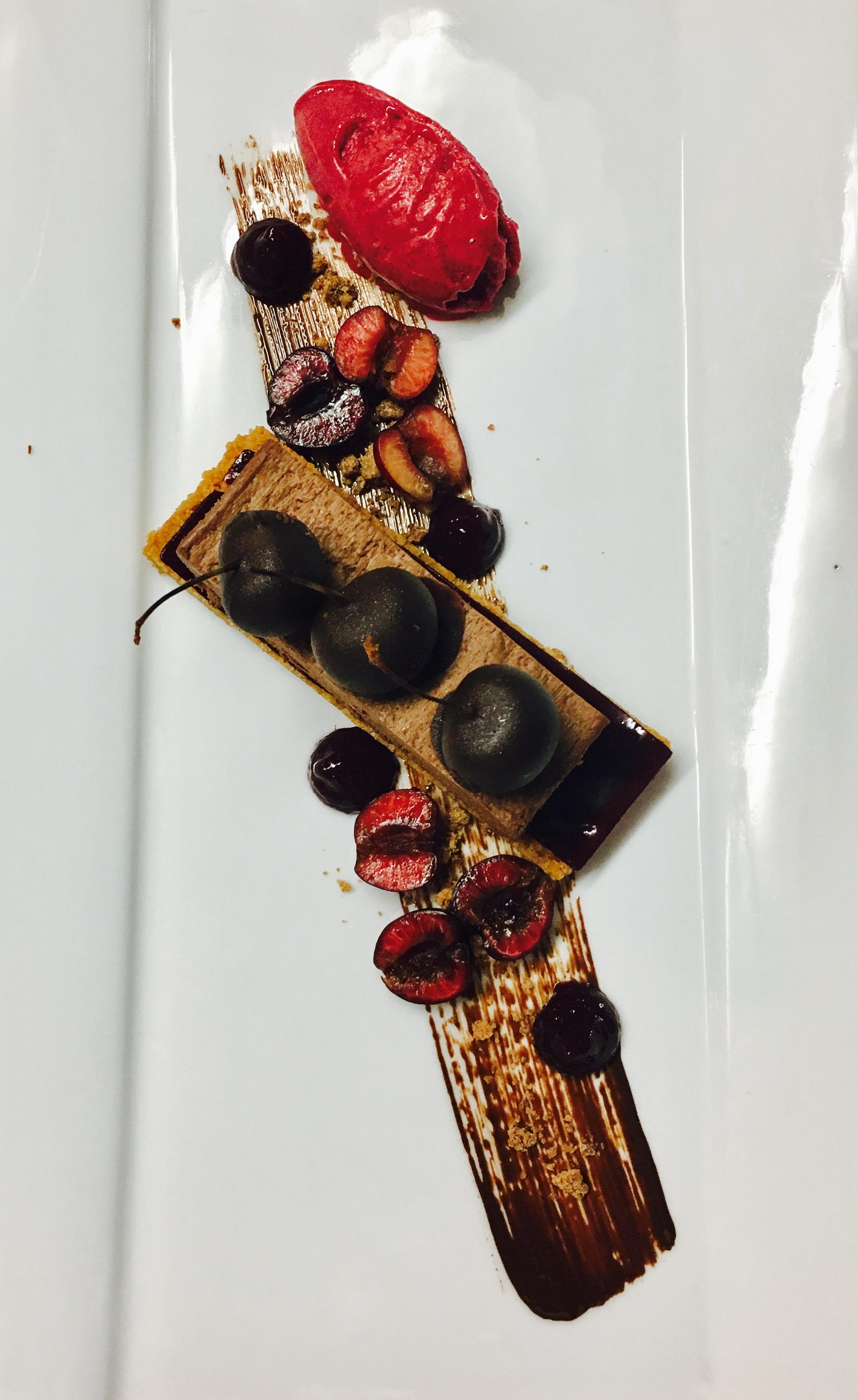 parfait chocolat burlat