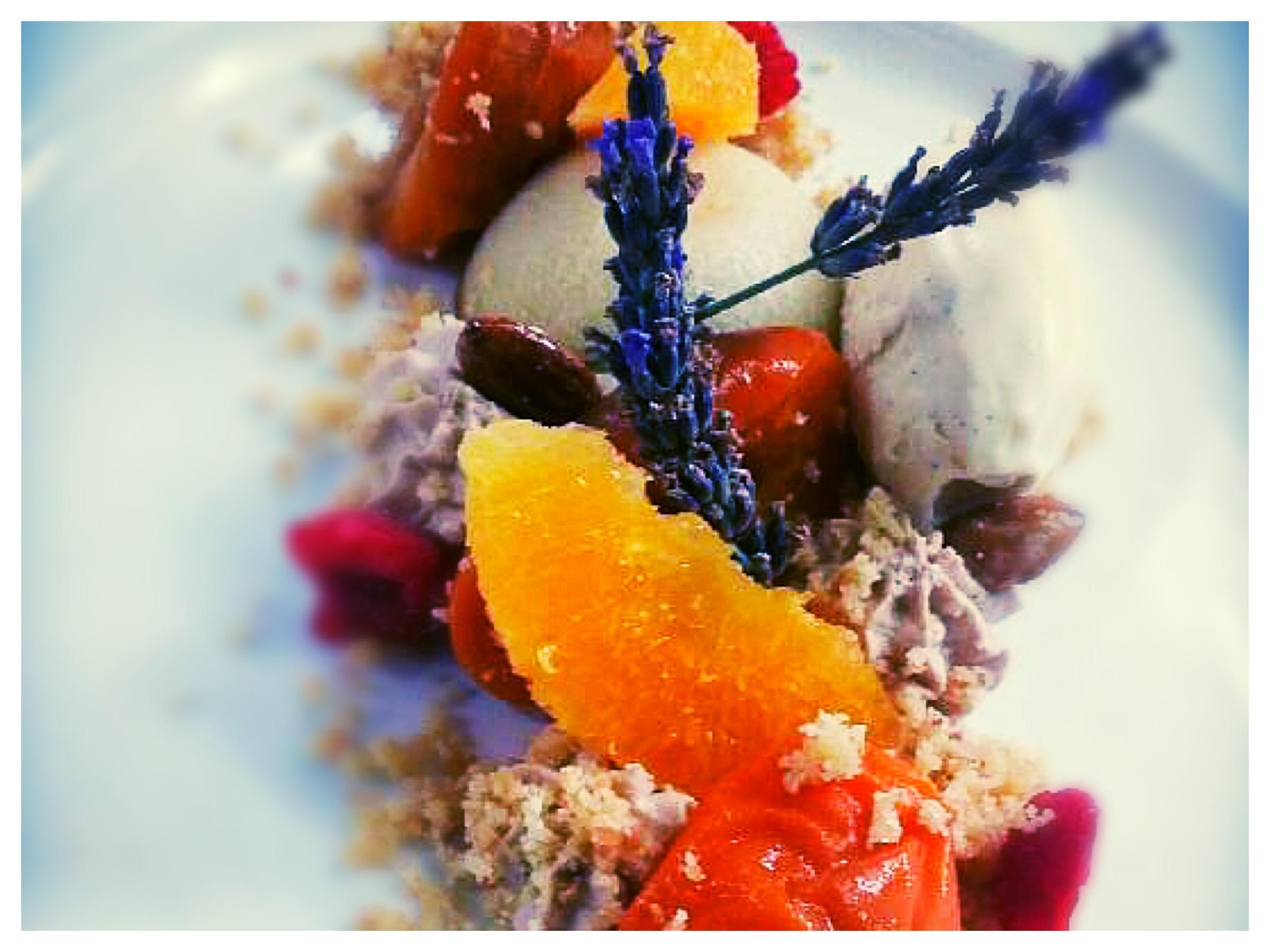 abricot lavande