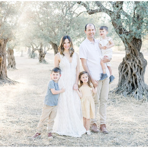 Family Session in the Olive Groves   Northern Virginia Family Photographer