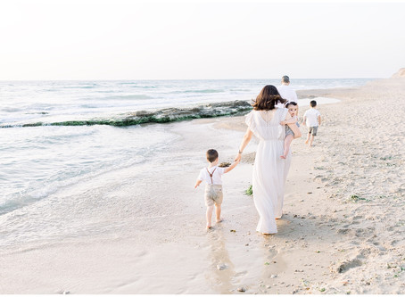 Family Session at the Beach | Northern Virginia Family Photographer