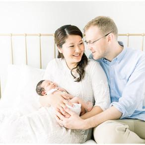 In-Home Newborn Session | Vienna, Virginia