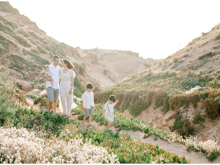 A Family Session on the Mediterranean