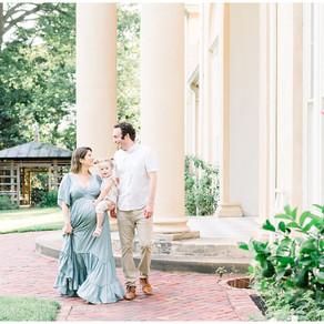 Tudor Place Maternity Session | Washington, DC Maternity Photographer