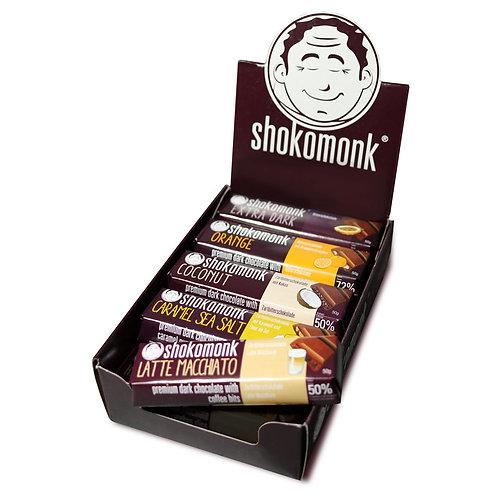 mix-a-monk Riegel dunkle Schokolade