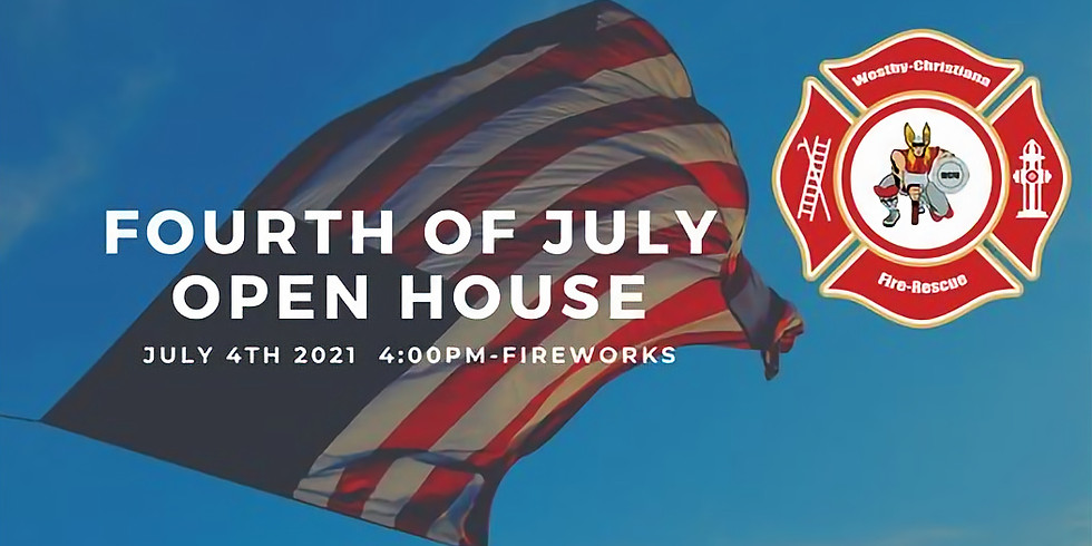 Westby Christiana Fire Dept. 4th of July Open House