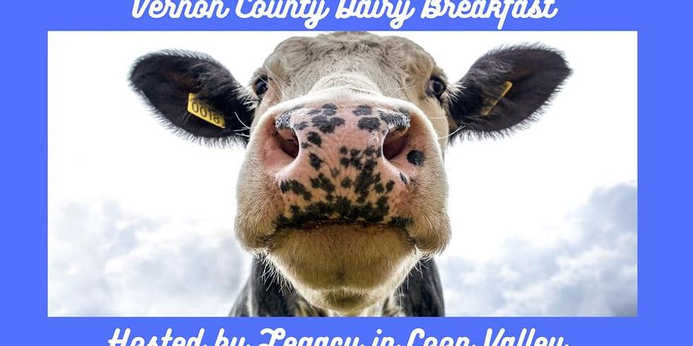 Vernon County Dairy Breakfast