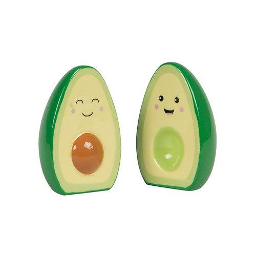 Happy Avocado Salt & Pepper Set