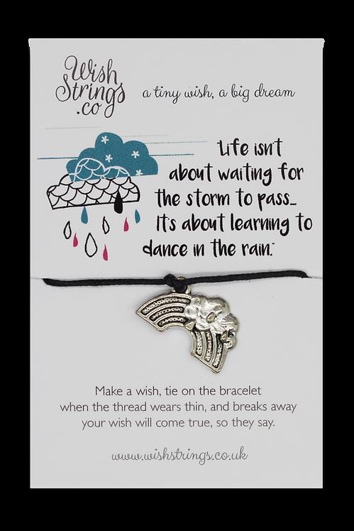 Dance in the Rain Wish Bracelet