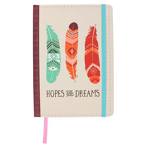 Hopes and Dreams A5 Notebook