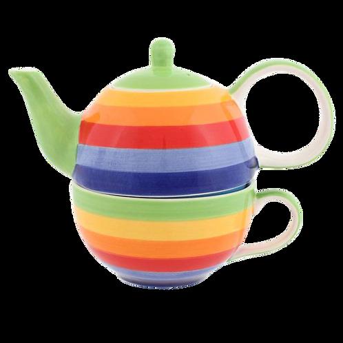 Rainbow Tea For One