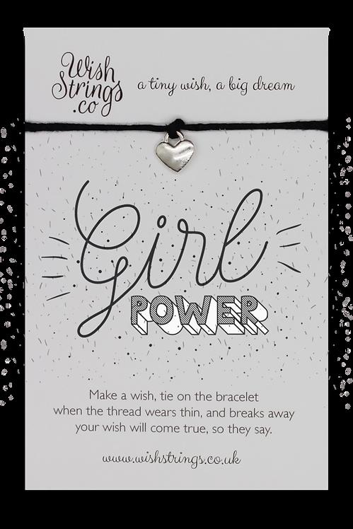 Girl Power Wish Bracelet