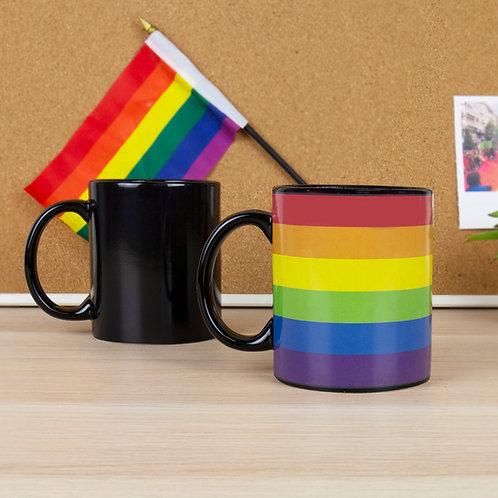 Rainbow Heat Reveal Mug