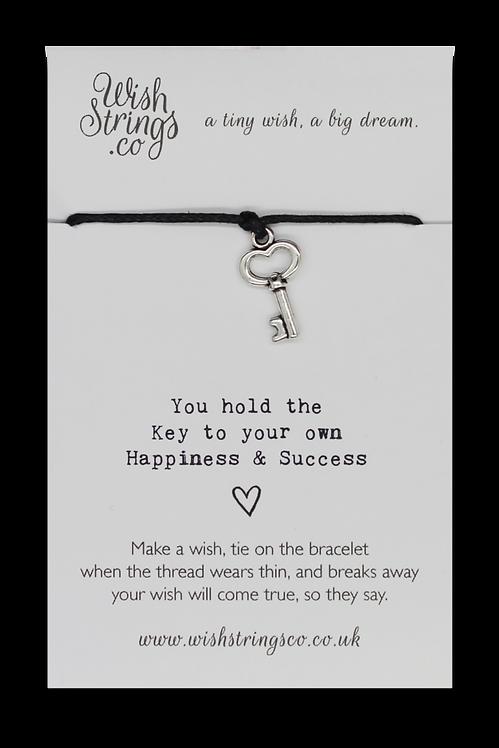 Key to Success Wish Bracelet