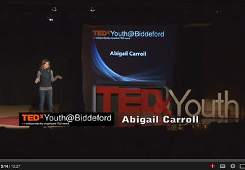 Abigail Carroll, Oyster Farmer, Author, Maine, TED, TEDX, TEDXYOUTH, Writer, Entrepreneur, Investor