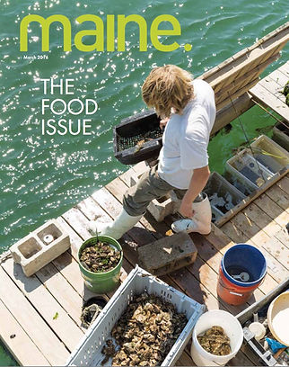 Abigail Carroll, Maine's Oyster Lady. Maine Magazine.