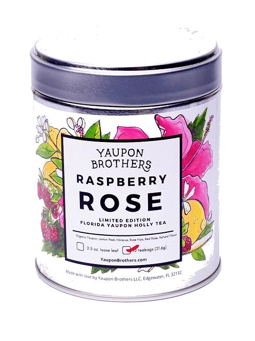 Raspberry Rose Yaupon Tea by Yaupon Brothers