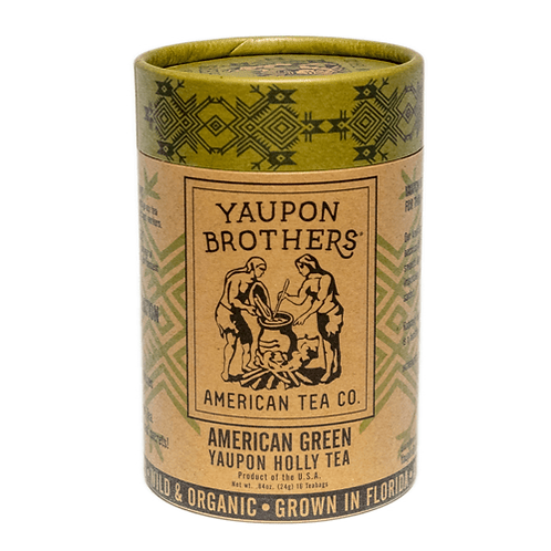American Green Yaupon Tea by Yaupon Brothers