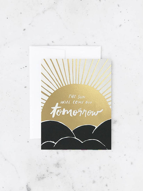 Sun Will Come Out Card by Idlewild