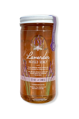 Lavender Infused Honey The Florida Local collaboration with Stubbees