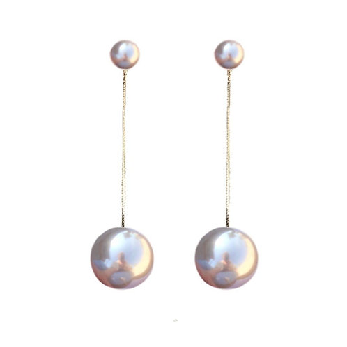Swing Pearl Drops Earrings by St. Armands Designs of Sarasota