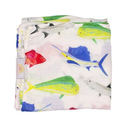 Fish Swaddle by Florida Kid Co.