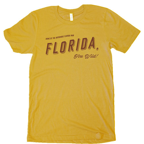 Florida You Wild Tee by Freehand Goods