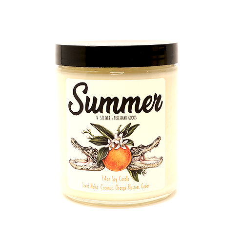 Summer Soy Candle by Freehand Goods