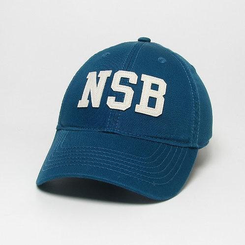 Marine Blue NSB Stitched Felt Classic Hat
