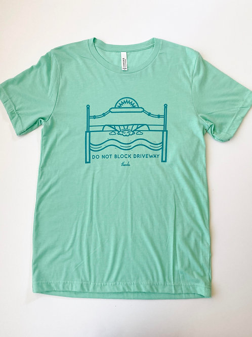Don't Block the Driveway Flagler Avenue Unisex T-Shirt